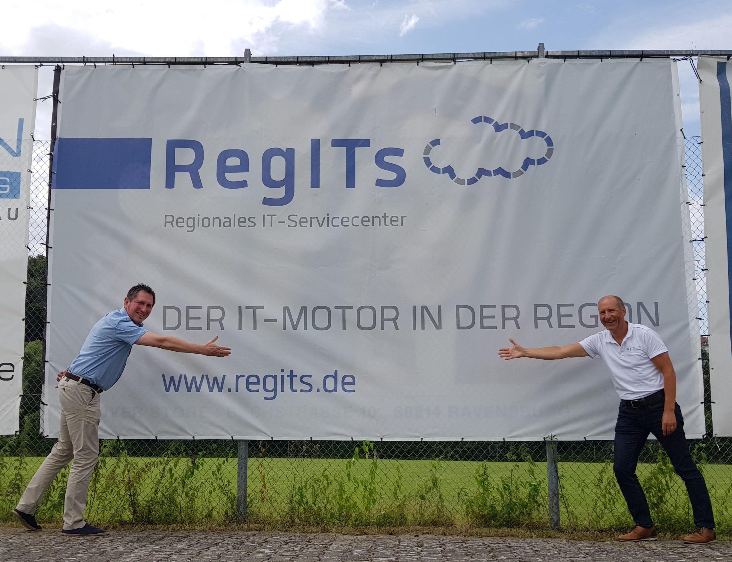 RegITs wird Sponsor des FV Ravensburg